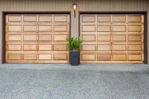 Cedar Garage Door Maintenance