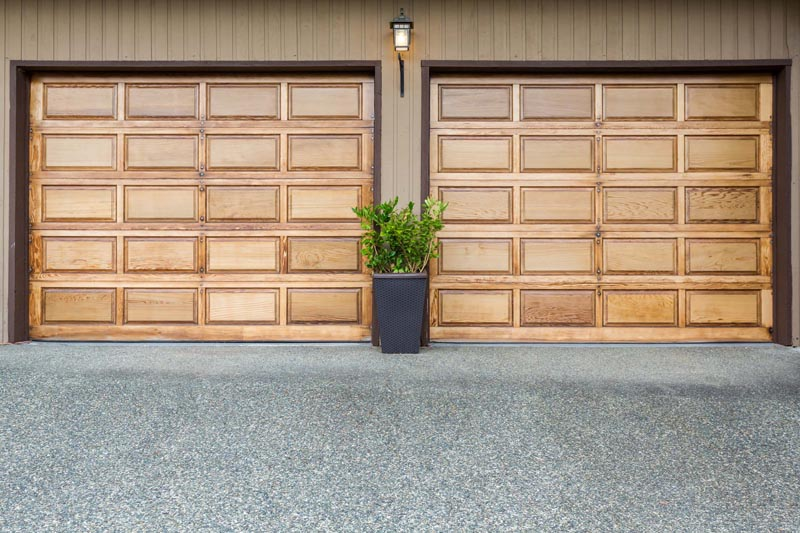 Cedar Garage Door Maintenance